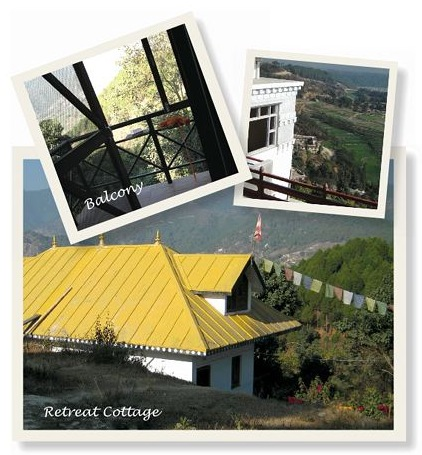 A Retreat Cottage in the Garden of Happiness Meditation Center-Nepal