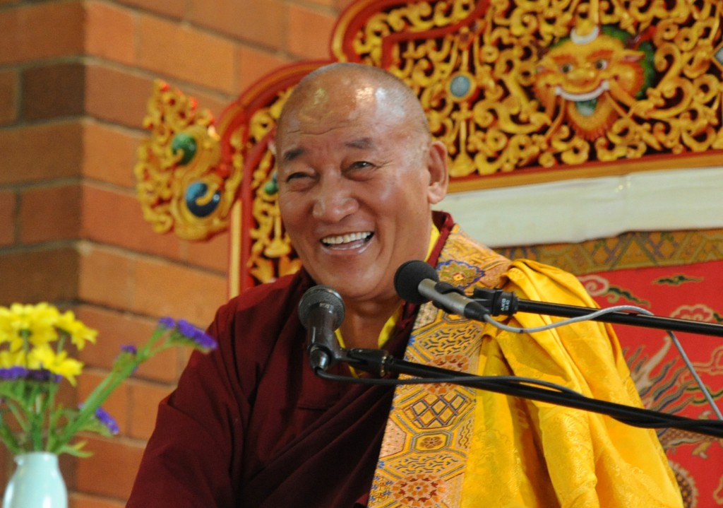 Ayang Rinpoche in Sydney 2011
